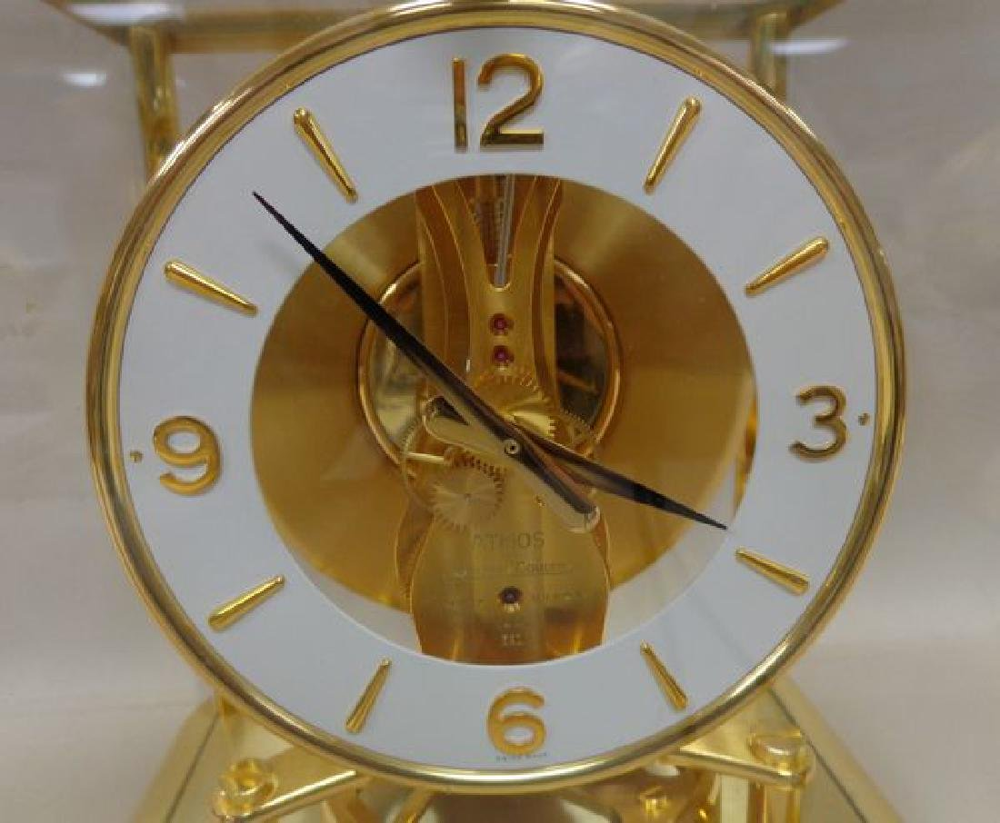 BRASS 'ATMOS' CLOCK BY JAEGER-LE COULTRE, - 2