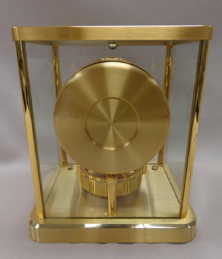 BRASS 'ATMOS' CLOCK BY JAEGER-LE COULTRE, - 3