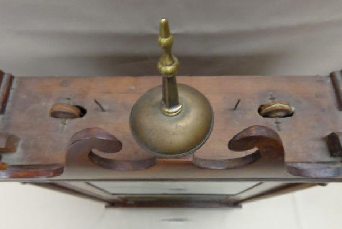 EARLY (1832) ATKINS & DOWNS  SHELF CLOCK - 2