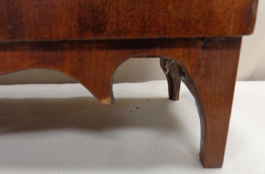 EARLY (1832) ATKINS & DOWNS  SHELF CLOCK - 3