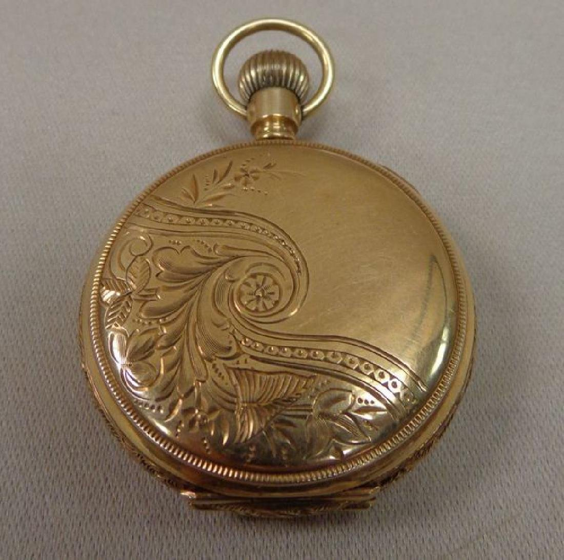 14 KT. GOLD ELGIN POCKET WATCH