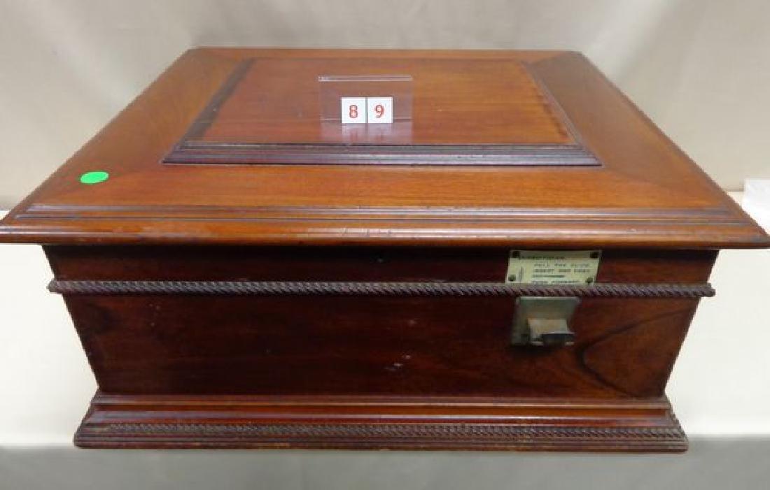 ANTIQUE REGINA COIN OPERATED MUSIC BOX