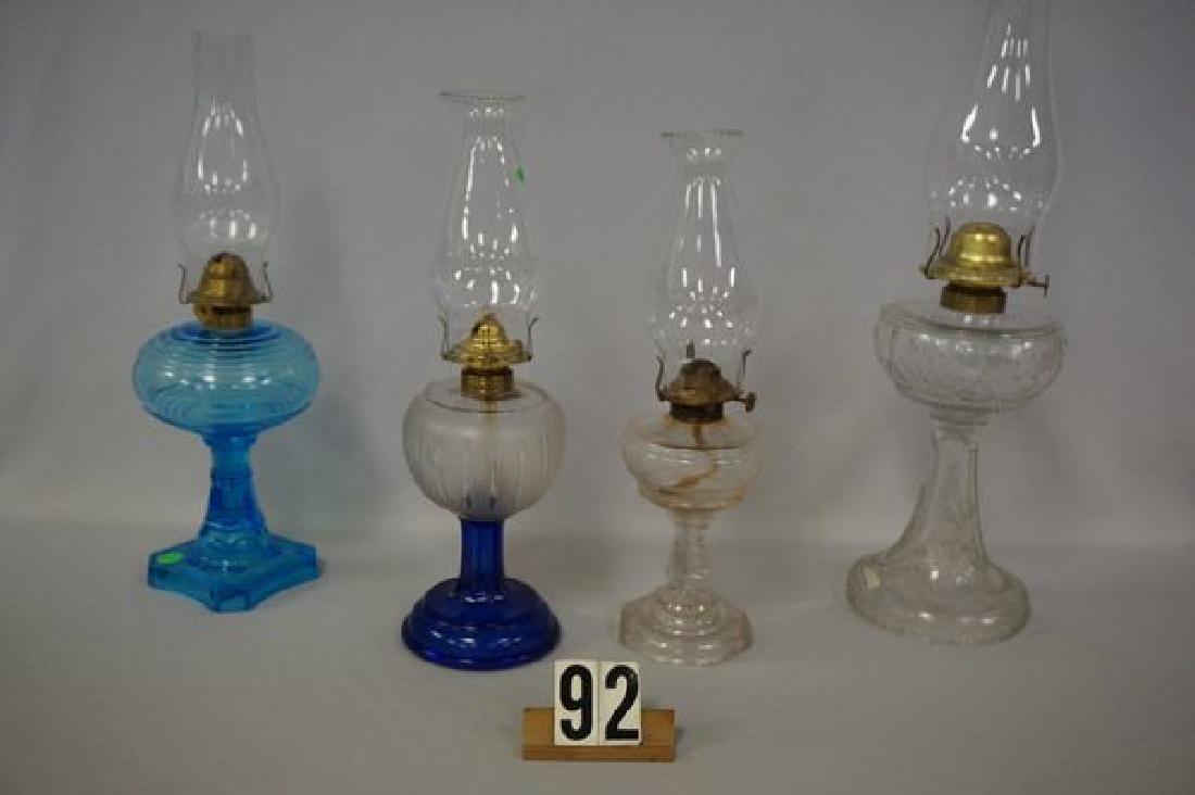 (4 PIECES) KEROSENE LAMPS