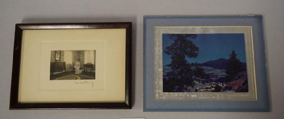 (2 PIECES) WALLACE NUTTING: INTERIOR