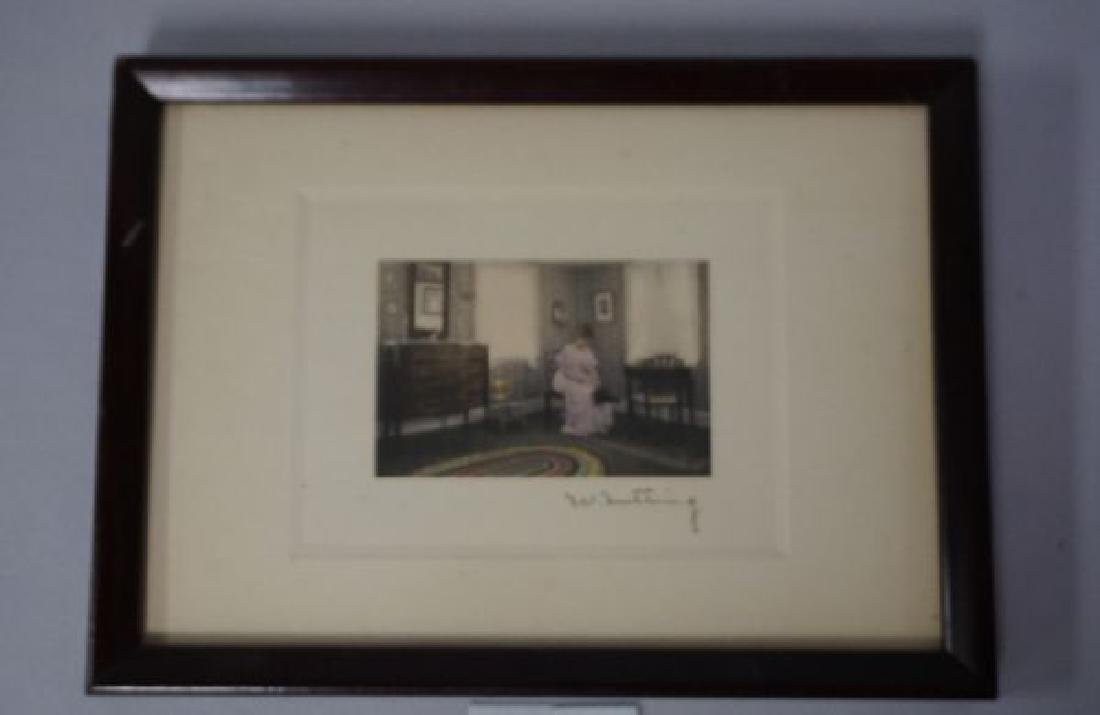 (2 PIECES) WALLACE NUTTING: INTERIOR - 2