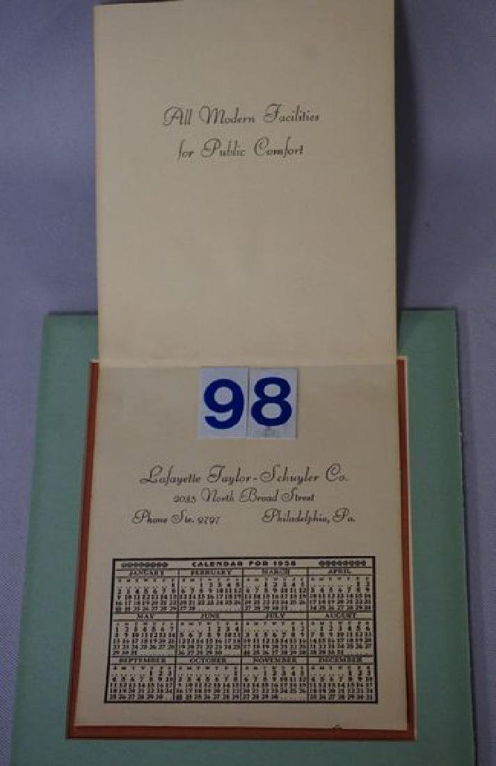 (2 PIECES) MAXFIELD PARRISH CALENDARS: - 6