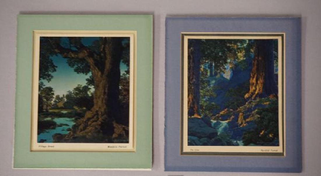 (2 PIECES) MAXFIELD PARRISH CALENDARS: