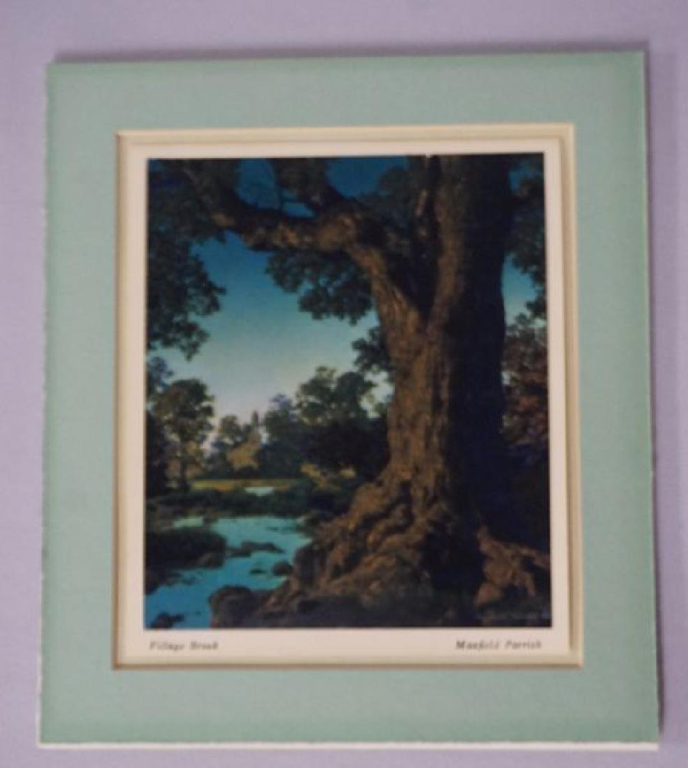 (2 PIECES) MAXFIELD PARRISH CALENDARS: - 2