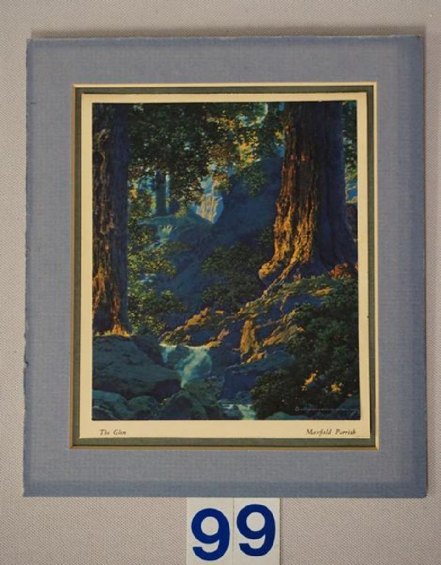 (2 PIECES) MAXFIELD PARRISH CALENDARS: - 5