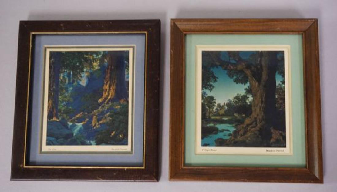 (2 PIECES) MAXFIELD PARRISH CALENDARS: - 8