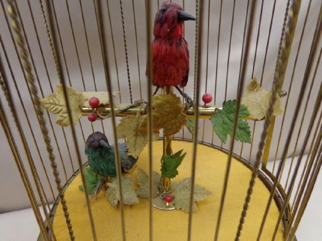 FRENCH BRASS BIRD CAGE - 2