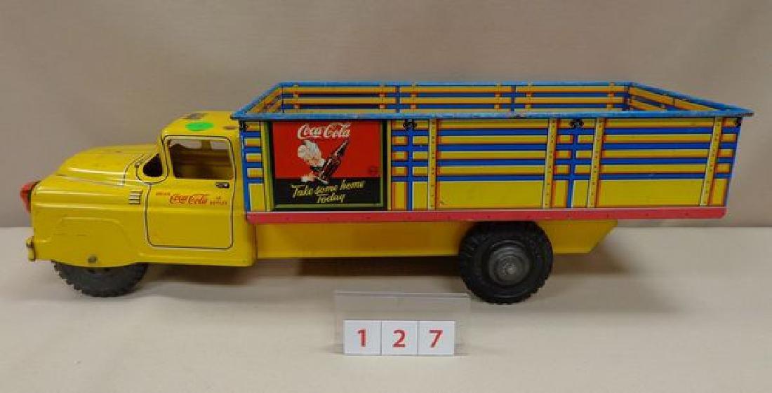 COCA-COLA 1950'S MARX SPRITE BOY TOY TRUCK - 2