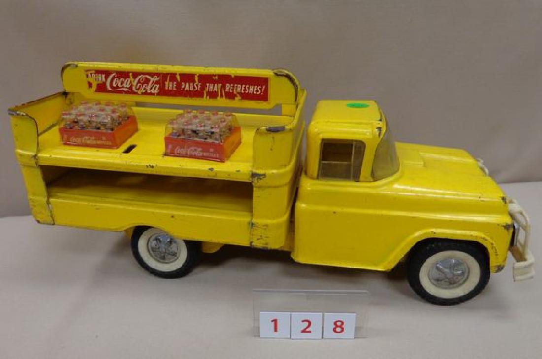 COCA-COLA 1960'S BUDDY-L TOY TRUCK