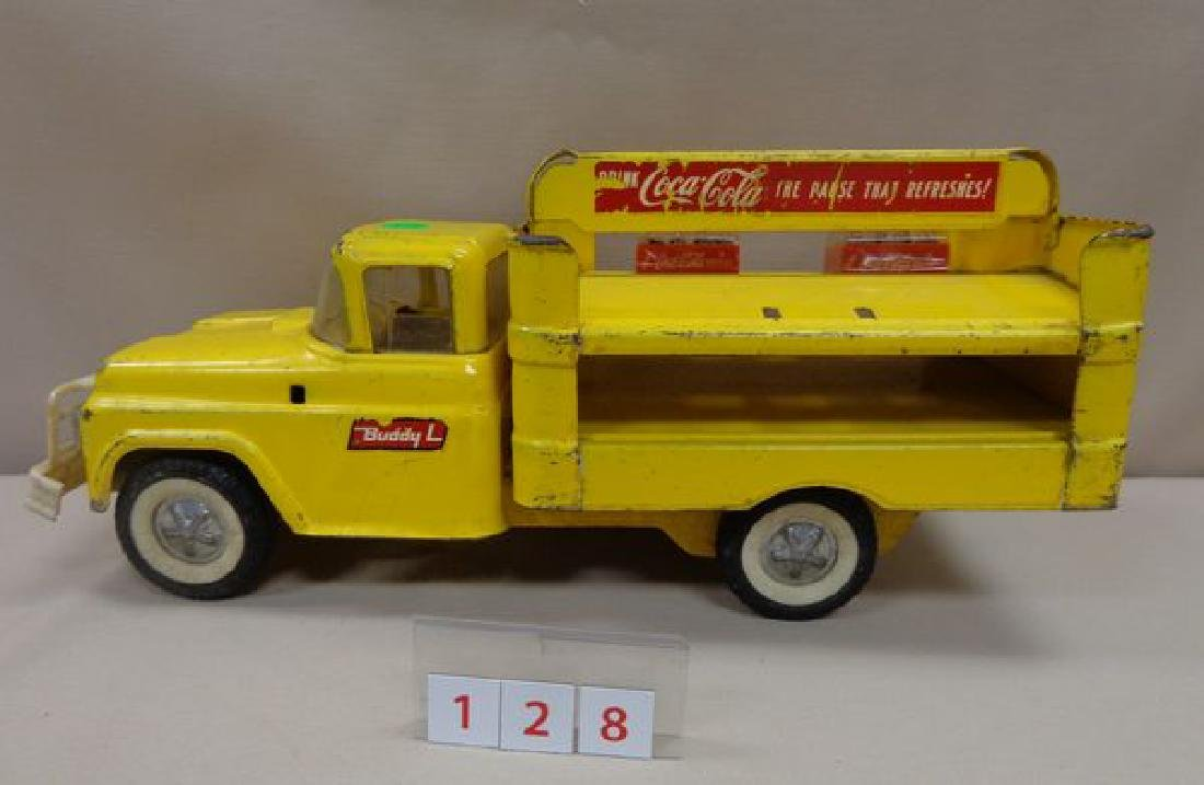 COCA-COLA 1960'S BUDDY-L TOY TRUCK - 2