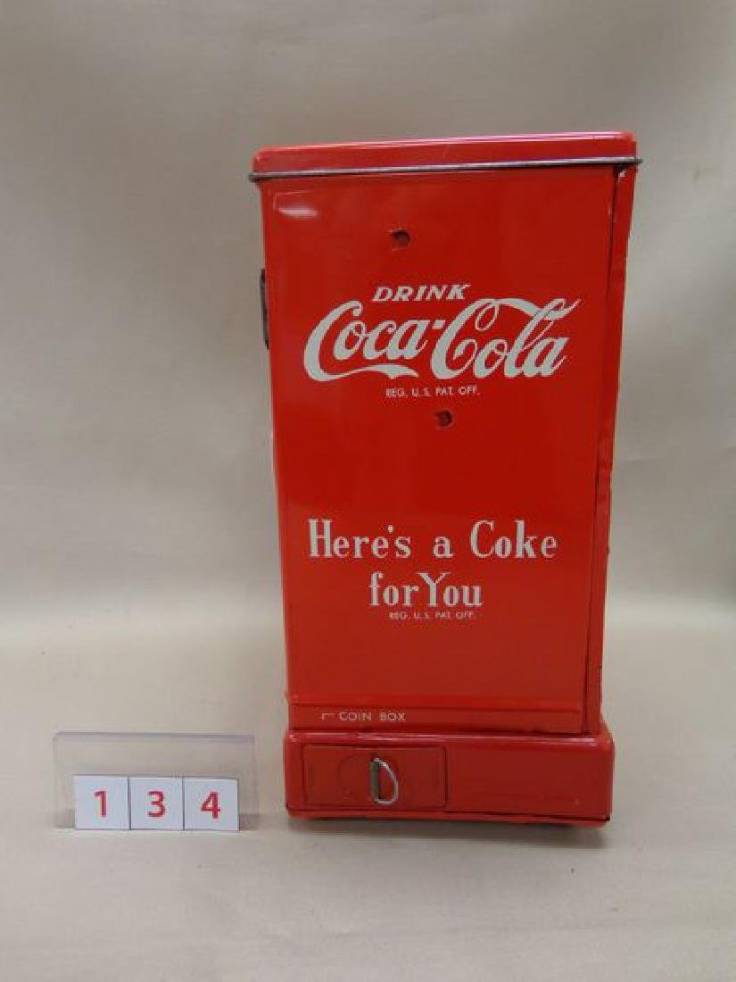 COCA-COLA BATTERY OPERATED ADVERTISING - 2