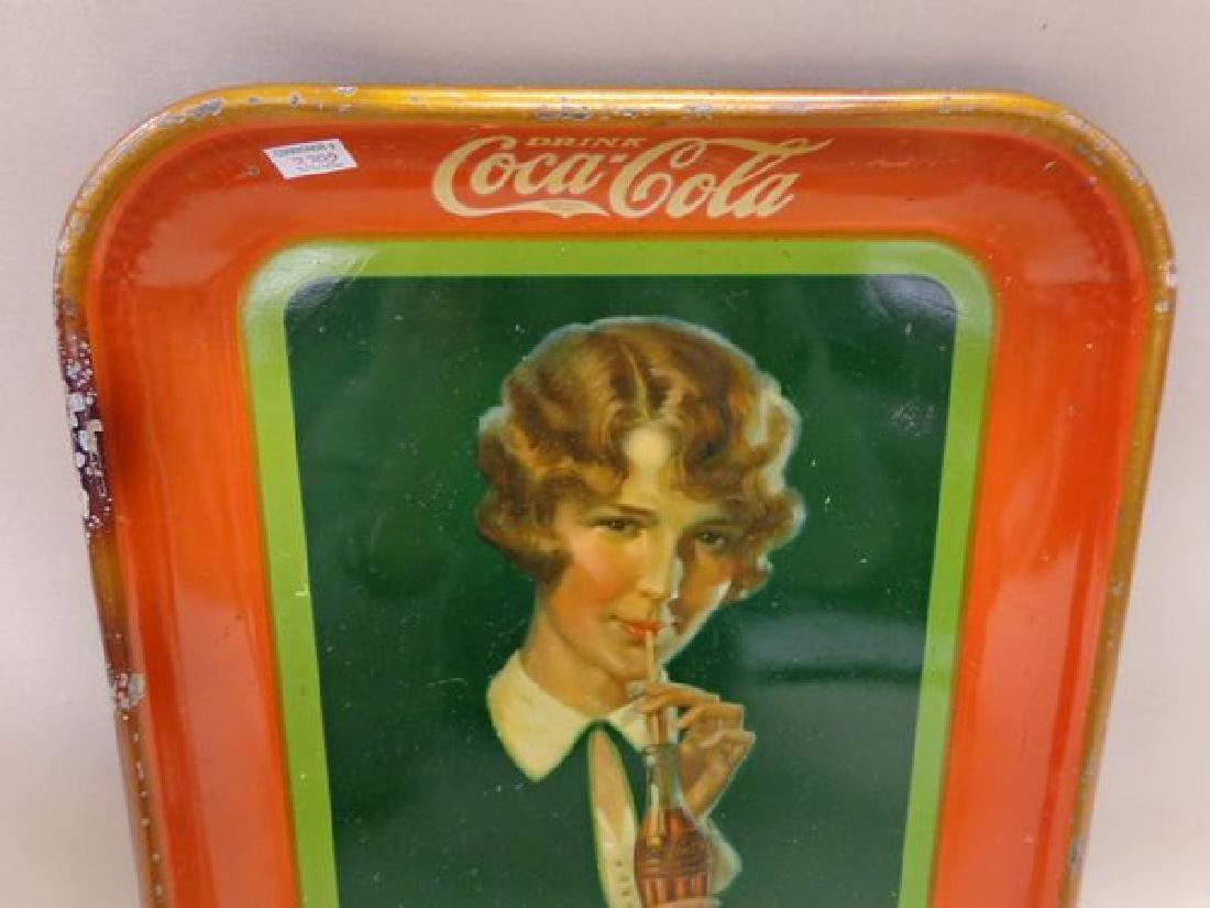 1927 COCA-COLA ADVERTISING TRAY - 2