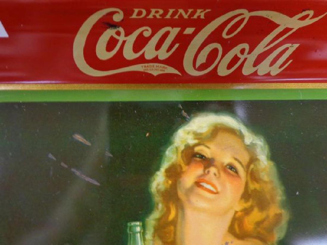 1932 COCA-COLA ADVERTISING TRAY - 2