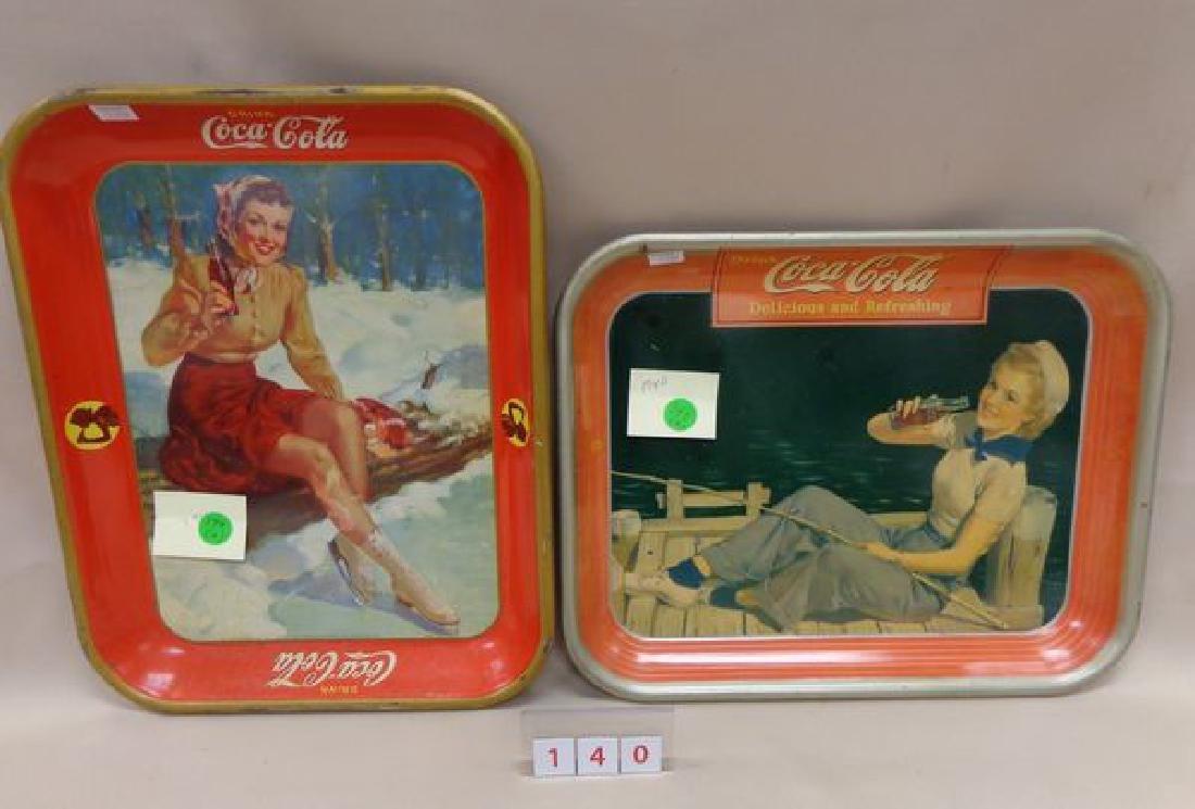 1940 COCA-COLA ADVERTISING TRAY