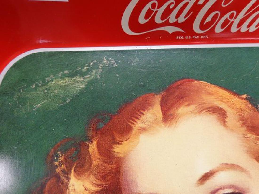 1942 COCA-COLA ADVERTISING TRAY - 3
