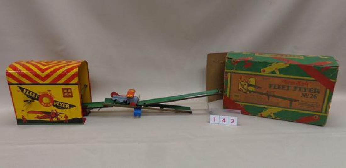 """1918 TIN WIND-UP TOY """"SUNNY ANDY"""""""