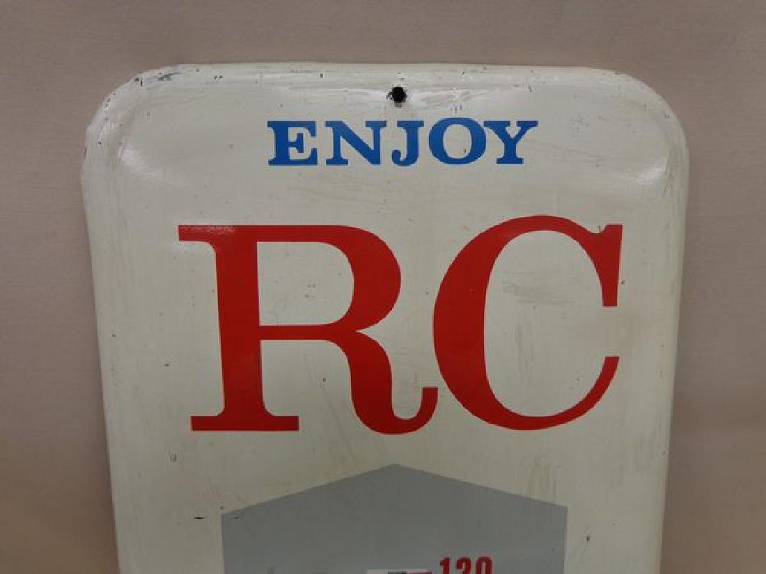 TIN VINTAGE ROYAL CROWN COLA ADVERTISING - 2