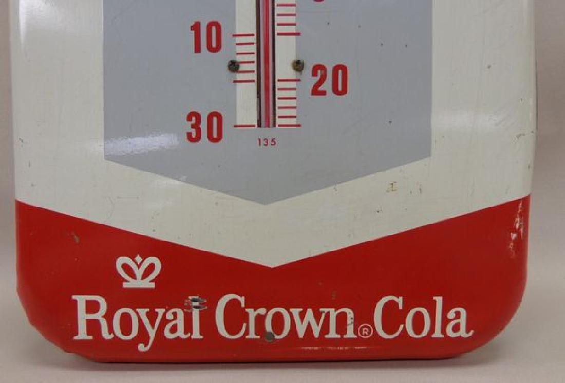 TIN VINTAGE ROYAL CROWN COLA ADVERTISING - 3