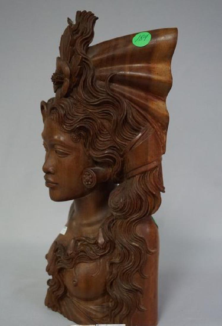 HAND CARVED NATIVE FIGURE - 5