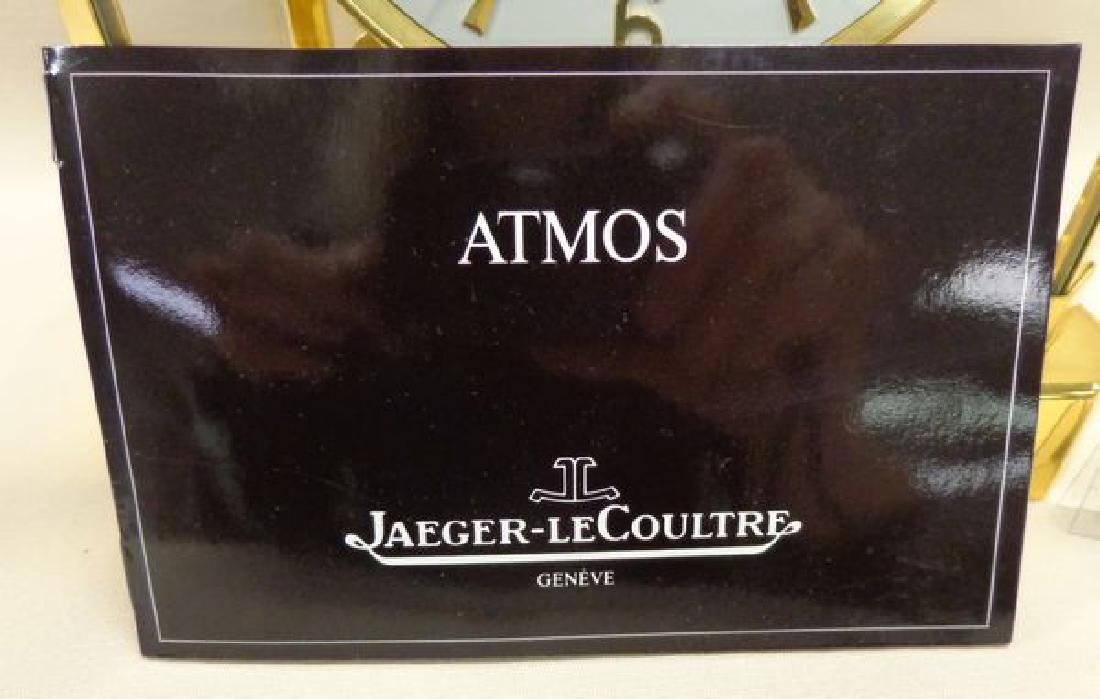 """BRASS """"ATMOS"""" CLOCK BY JAEGER - LE COULTRE - 2"""