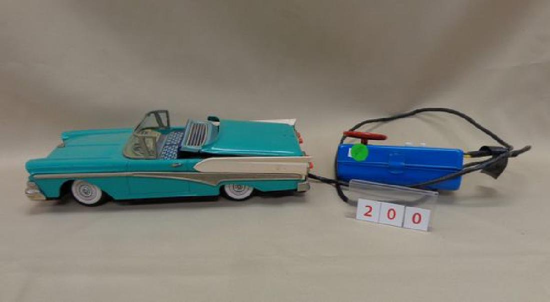 BATTERY OPERATED TIN 195 ? FORD THUNDERBIRD