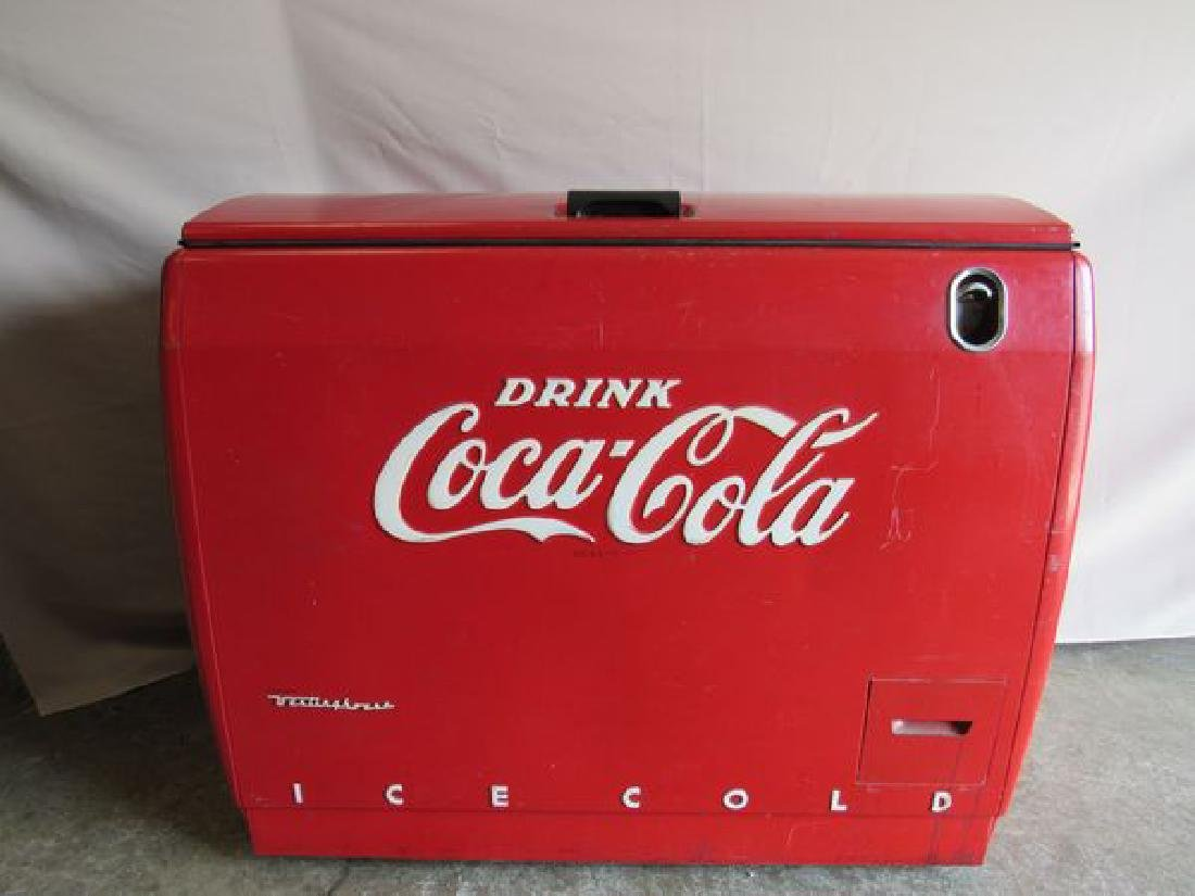COCA-COLA CIRCA 1950'S COOLER