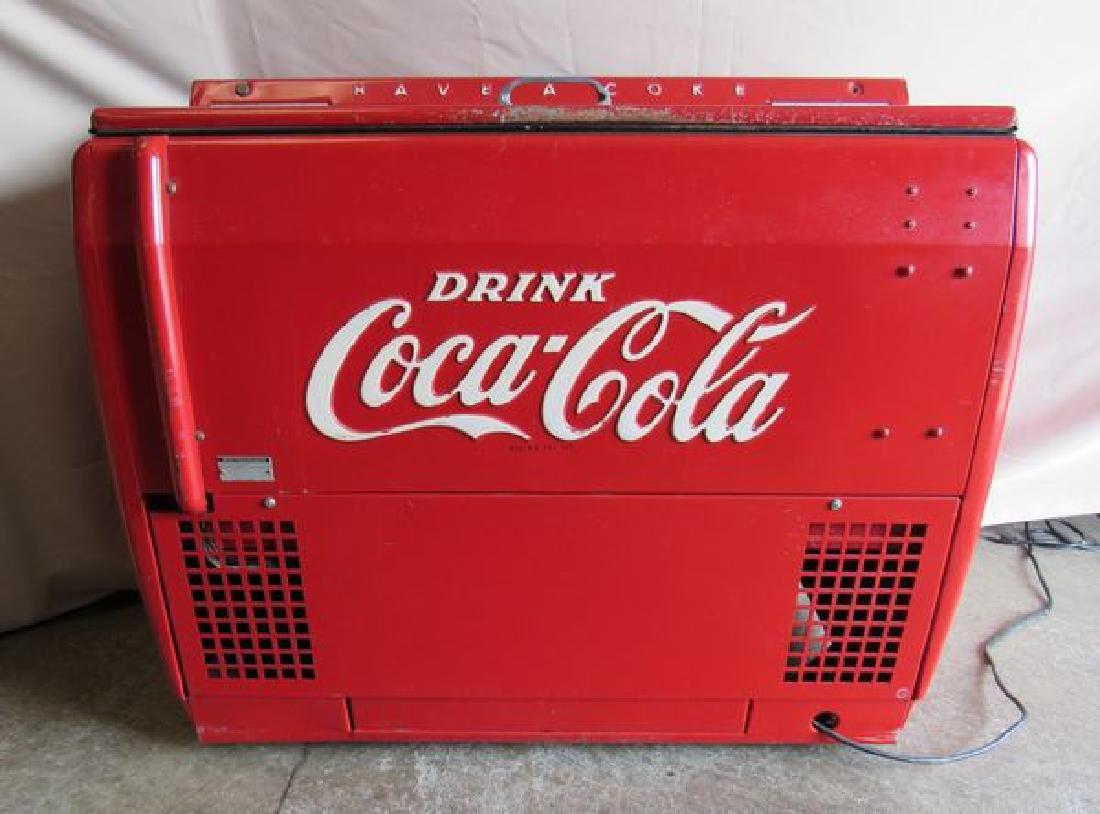 COCA-COLA CIRCA 1950'S COOLER - 4