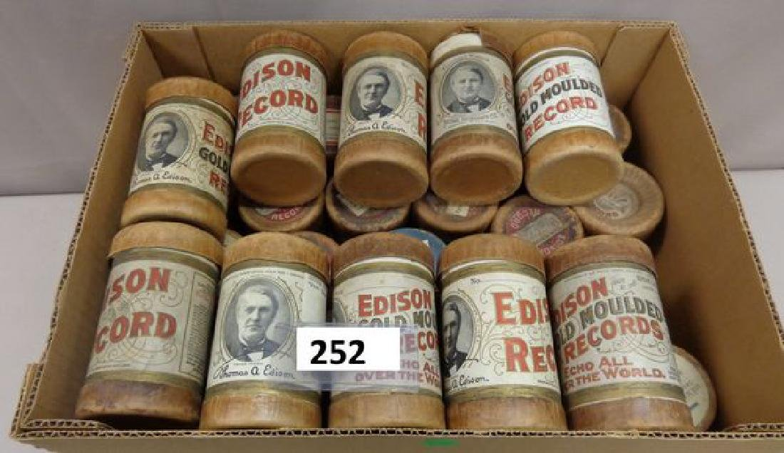 (32) EDISON CYLINDER RECORDS