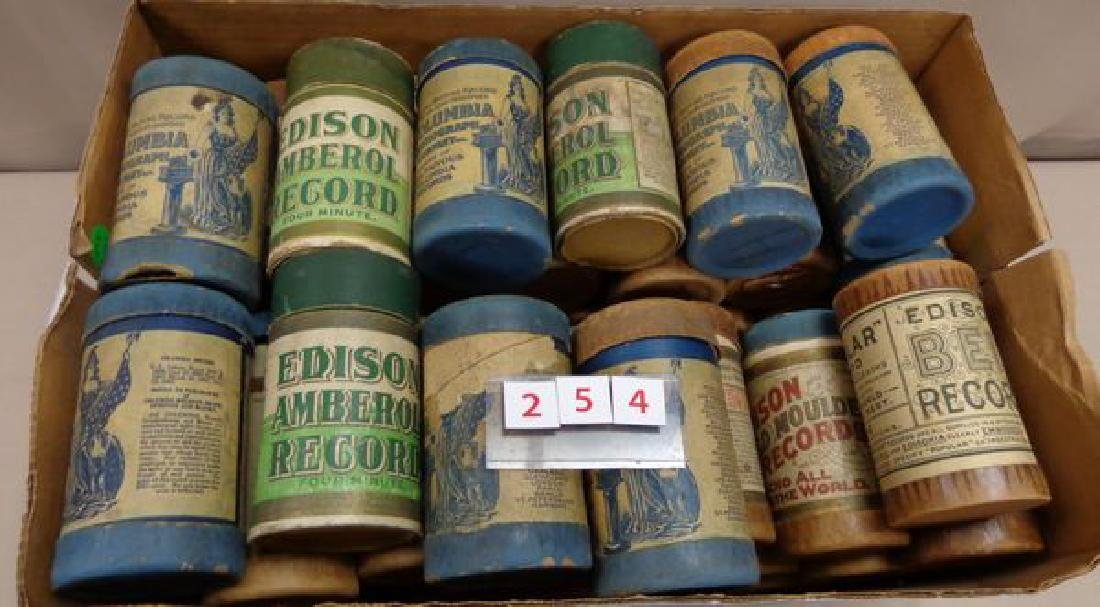(47)  EDISON & COLUMBIA CYLINDER RECORDS