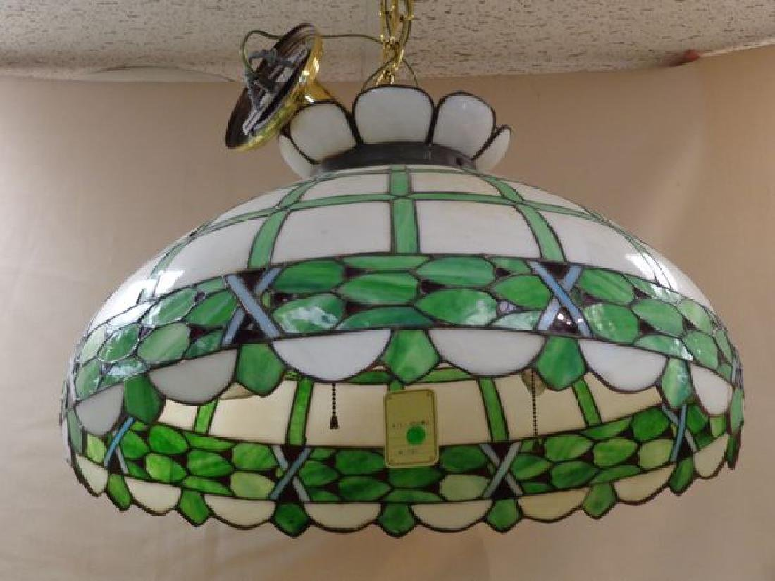 LARGE STAINED GLASS DOME CEILING