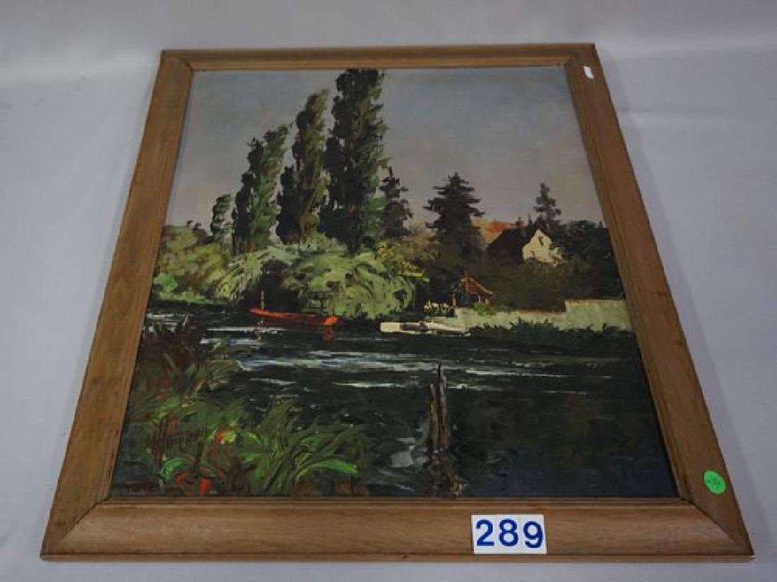 OIL PAINTING ON CANVAS - 2