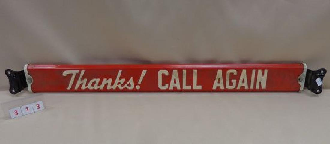 ANTIQUE DOOR PUSH BAR ADVERTISING HOLSUM - 2