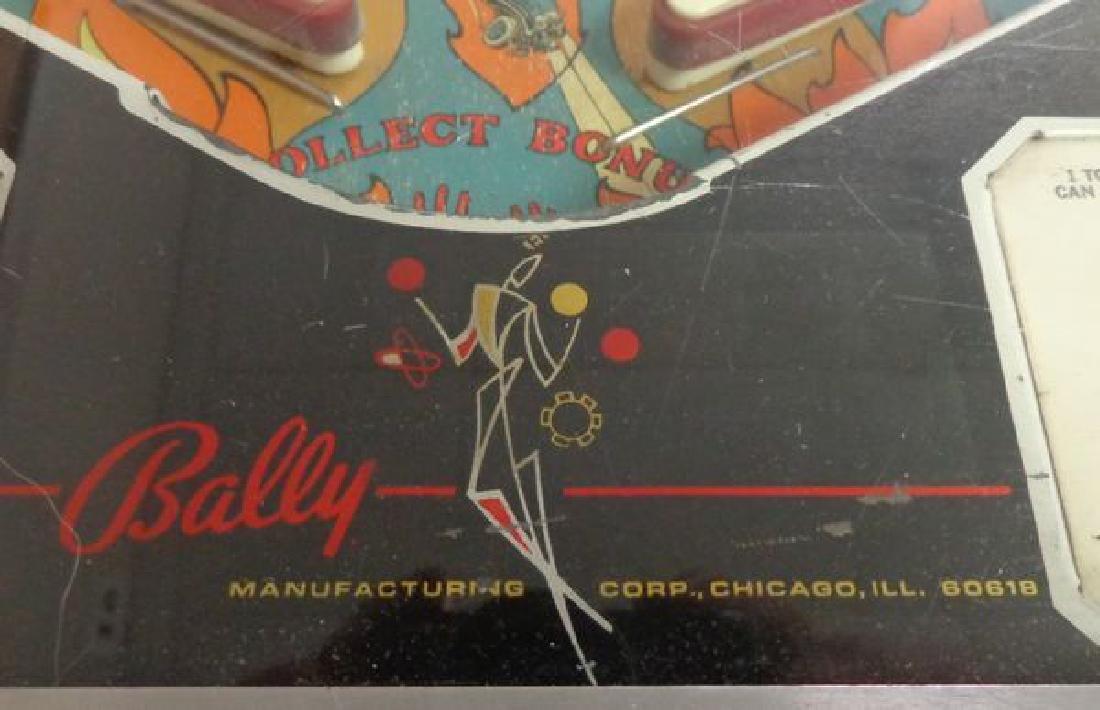 "1975 BALLY'S ""WIZARD"" ROCK & ROLL PINBALL - 5"