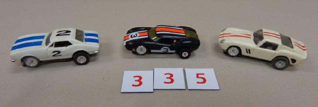 (3) AURORA SLOT CARS: - 2