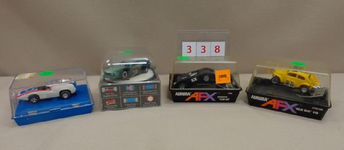 (4) AFX TYCO PRO SLOT CARS: