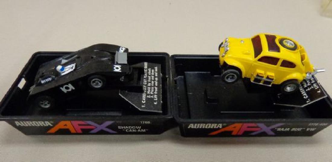 (4) AFX TYCO PRO SLOT CARS: - 2