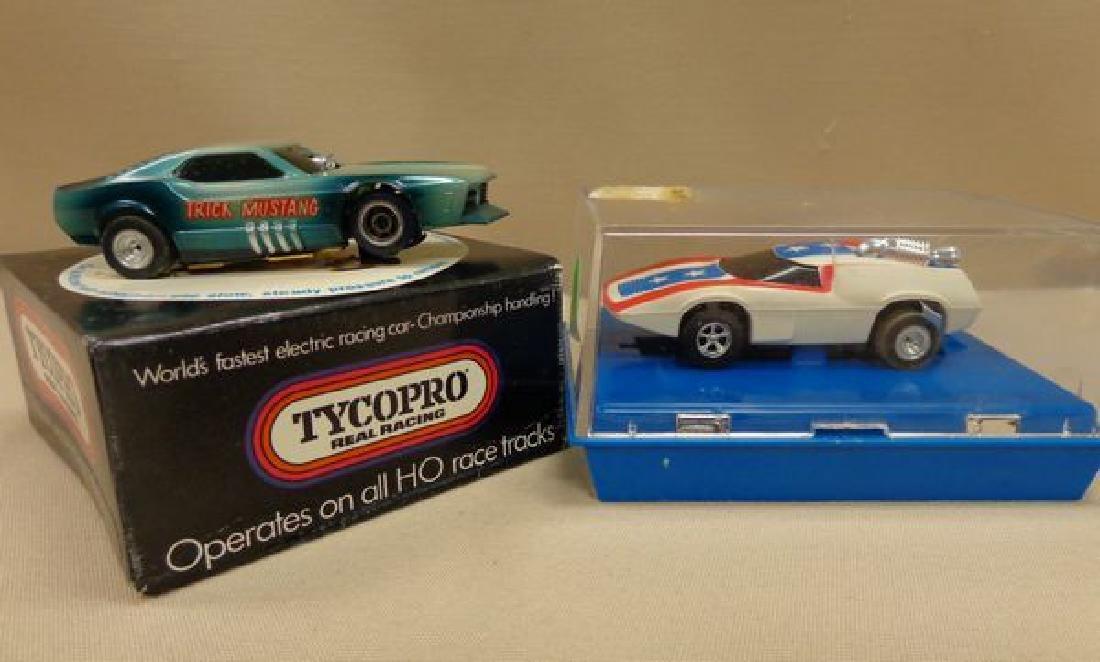 (4) AFX TYCO PRO SLOT CARS: - 3