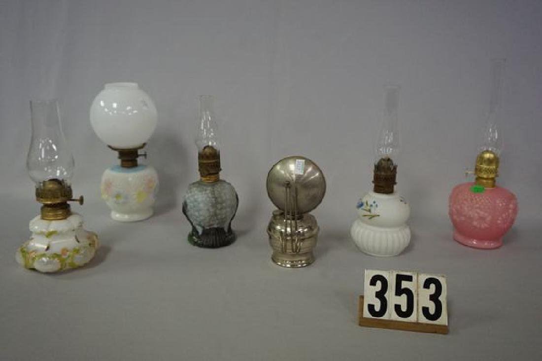 (6 PIECES) NICKEL PLATED NIGHT LAMP - 2