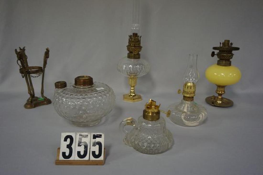 LOT: ASSORTED KEROSENE LAMPS - 2