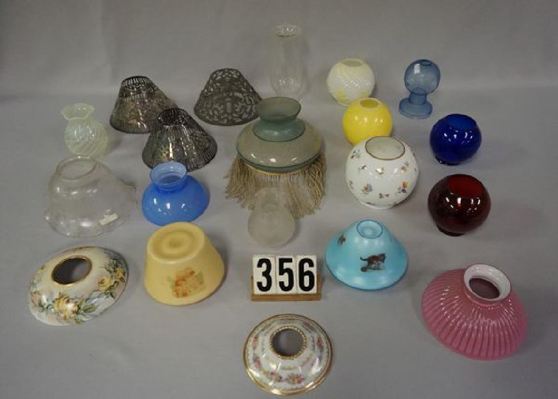 (20 PIECES) LARGE LOT OF ASSORTED SHADES