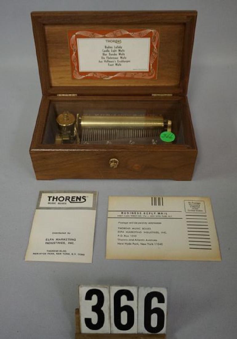 THORENS SWISS MADE MUSIC BOX