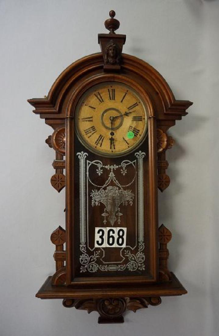 WM. L. GILBERT CLOCK CO. WALL CLOCK