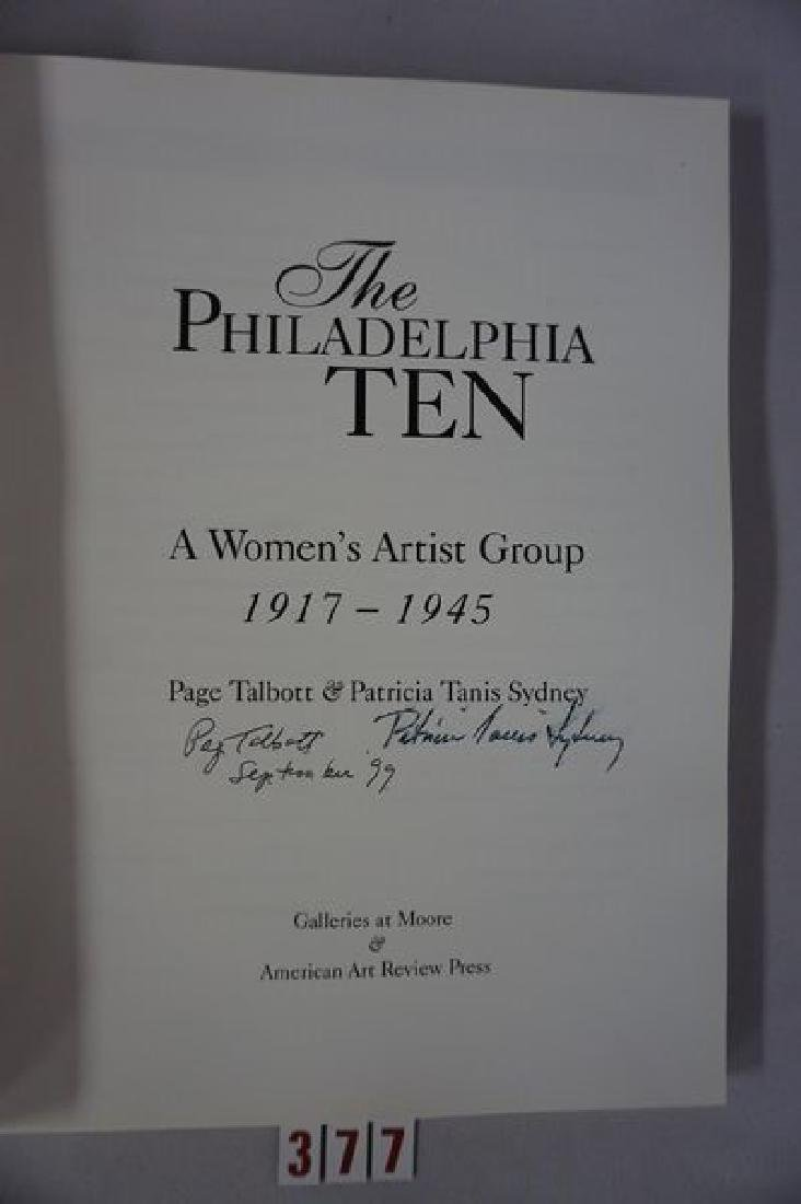 BOOK: THE PHILADELPHIA TEN, A WOMEN'S - 2