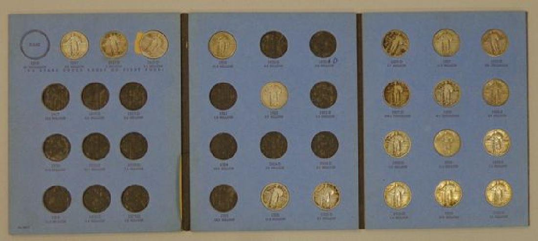 (19 DIFFERENT) LIBERTY STANDING QUARTERS: