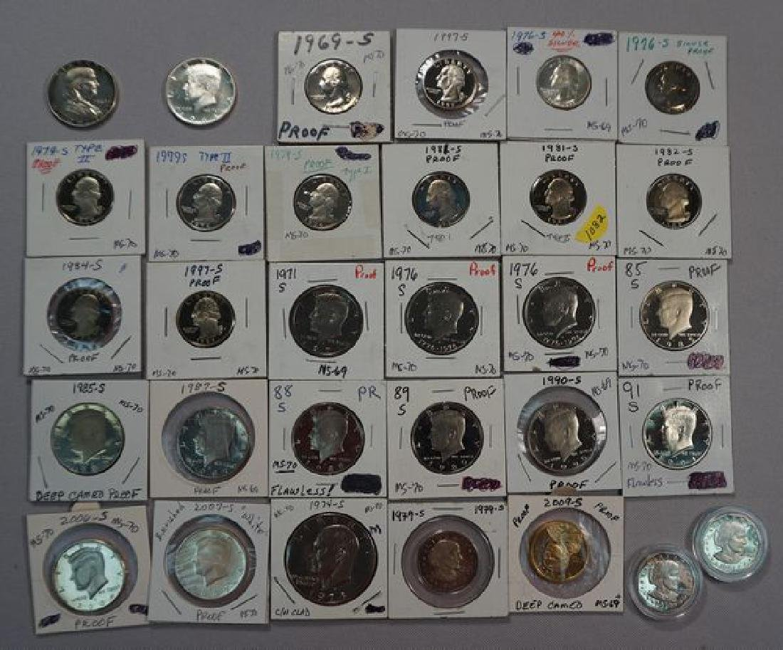 (31) PROOF COINS: