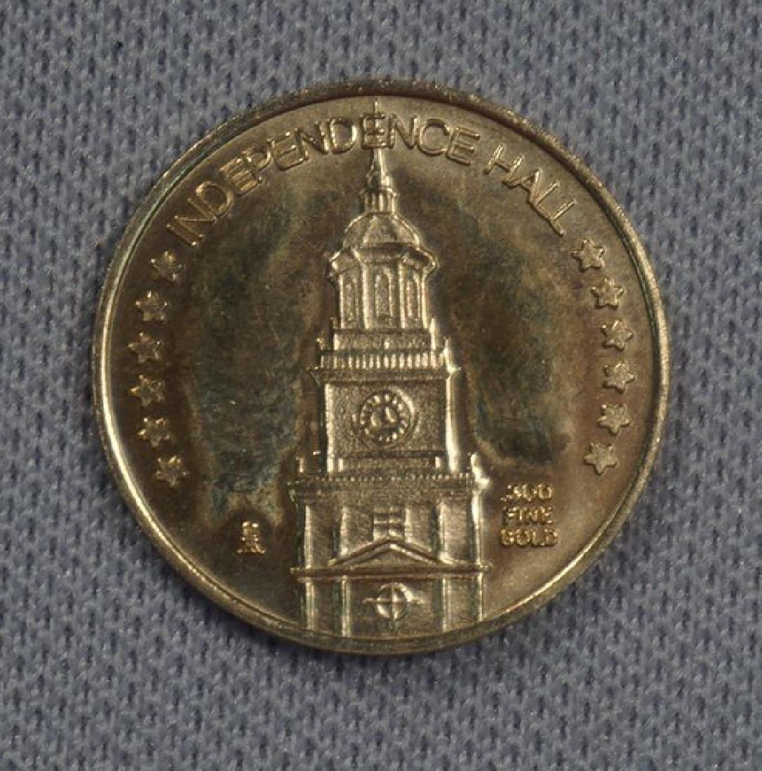 1976 GOLD BICENTENNIAL MEDAL: - 2